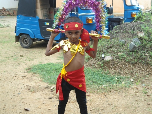 Kavadi- a type of dance